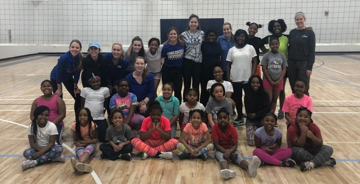 Women's Volleyball growing the game in the inner-city