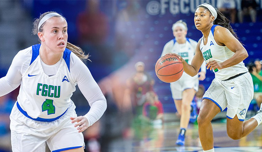 Ryan, Wingate Combine for 42 Points in FGCU Win vs. Coppin State