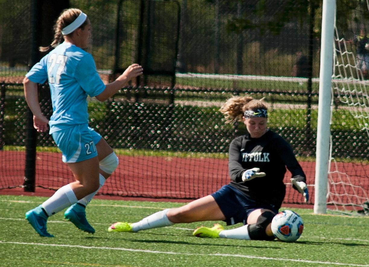 Women's Soccer Tripped Up at Albertus Magnus