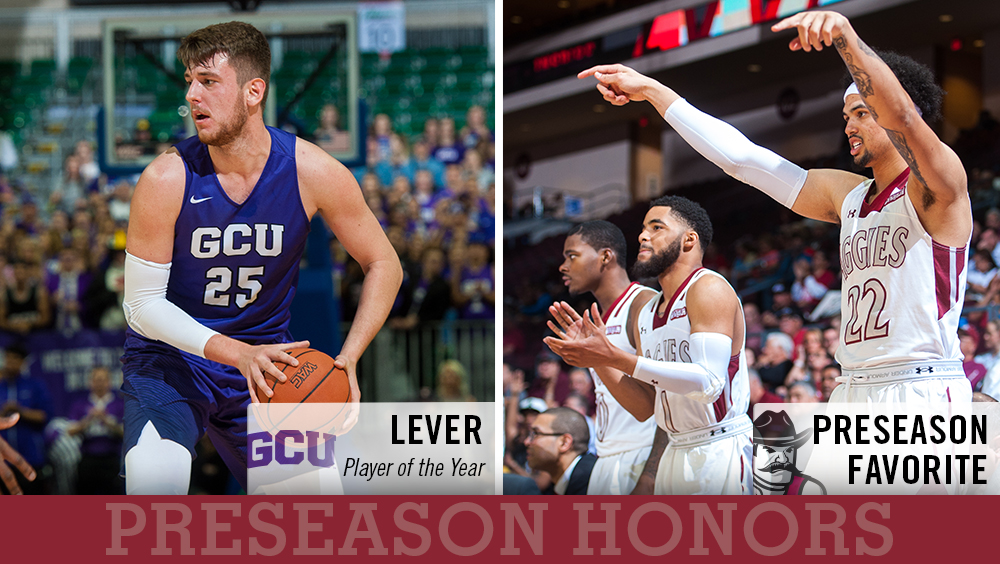 WAC Men's Basketball Media Select NM State, Grand Canyon's Lever as Favorites