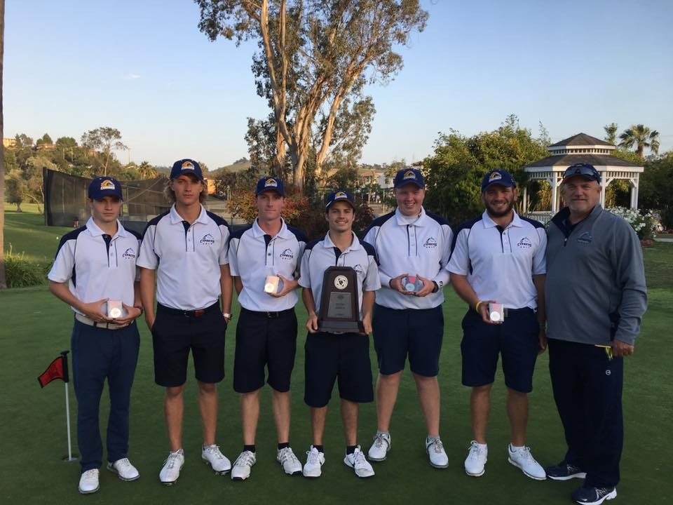 Men's Golf Advances to State Championship Round