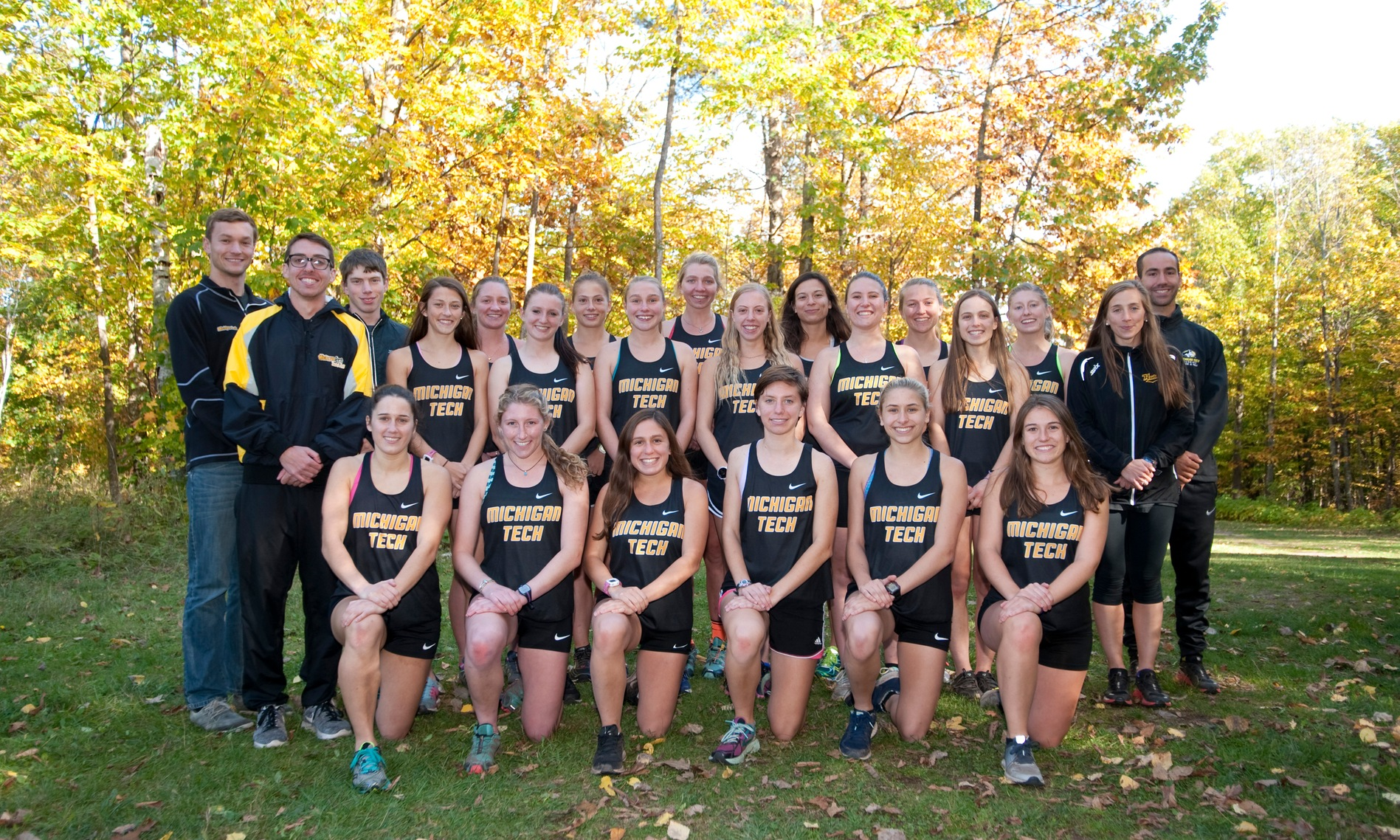 2017-18 Women's Cross Country Team