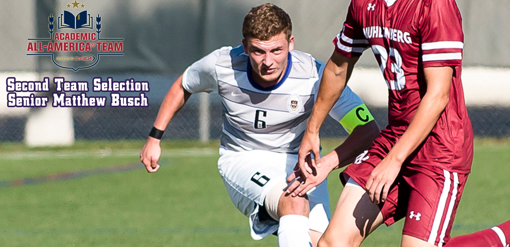 Matthew Busch Named to CoSIDA Academic All-America®  Team for Men's Soccer
