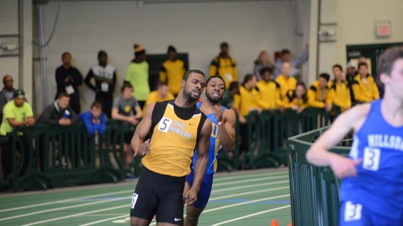 Track And Field Finishes Strong At YSU College Invitational; Woods Takes Third In Men's 60m