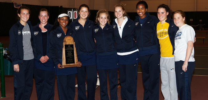 #3 Eagles Defeat Fourth-Ranked Chicago to Win ITA DIII Women's Indoor Championship