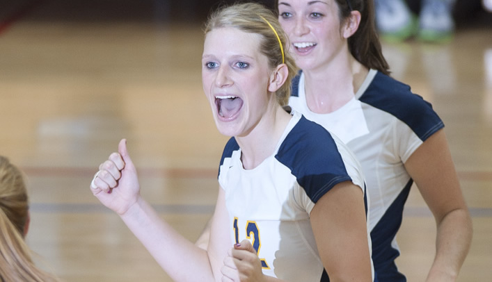 Amici Leads Volleyball with WIAC Player of the Year Honors