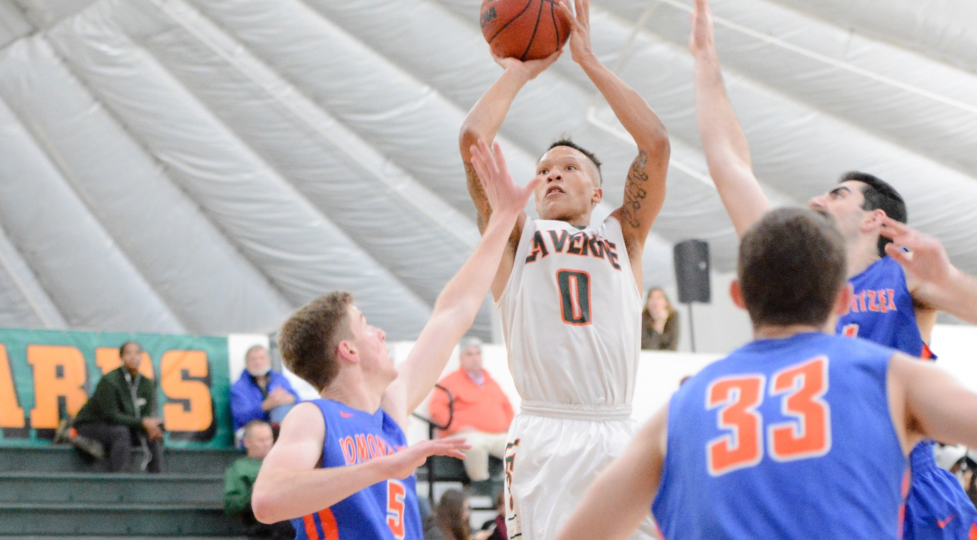 Arnold reaches 1,000 points, powers La Verne past Whittier
