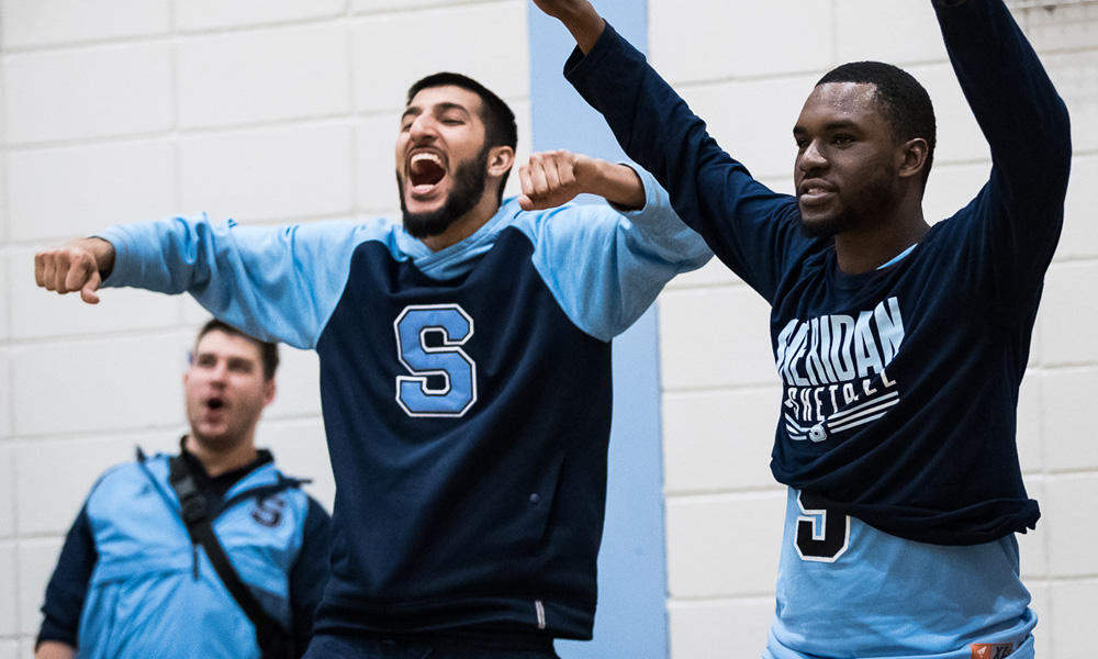 Men's basketball wrap up home schedule with sweep of Sault