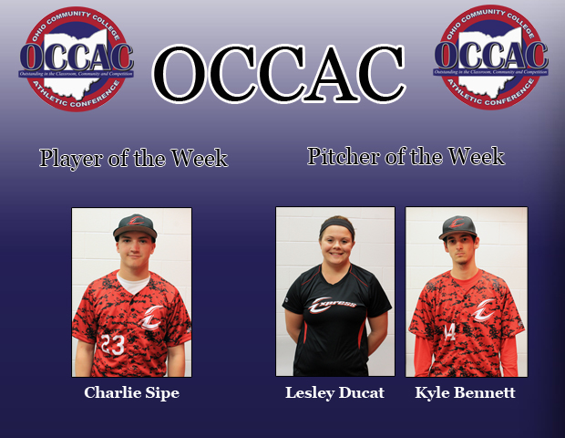 Three Express Student-Athletes Earn Conference POW Honors