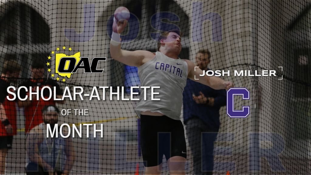 December OAC Scholar-Athlete of the Month: Josh Miller-Capital