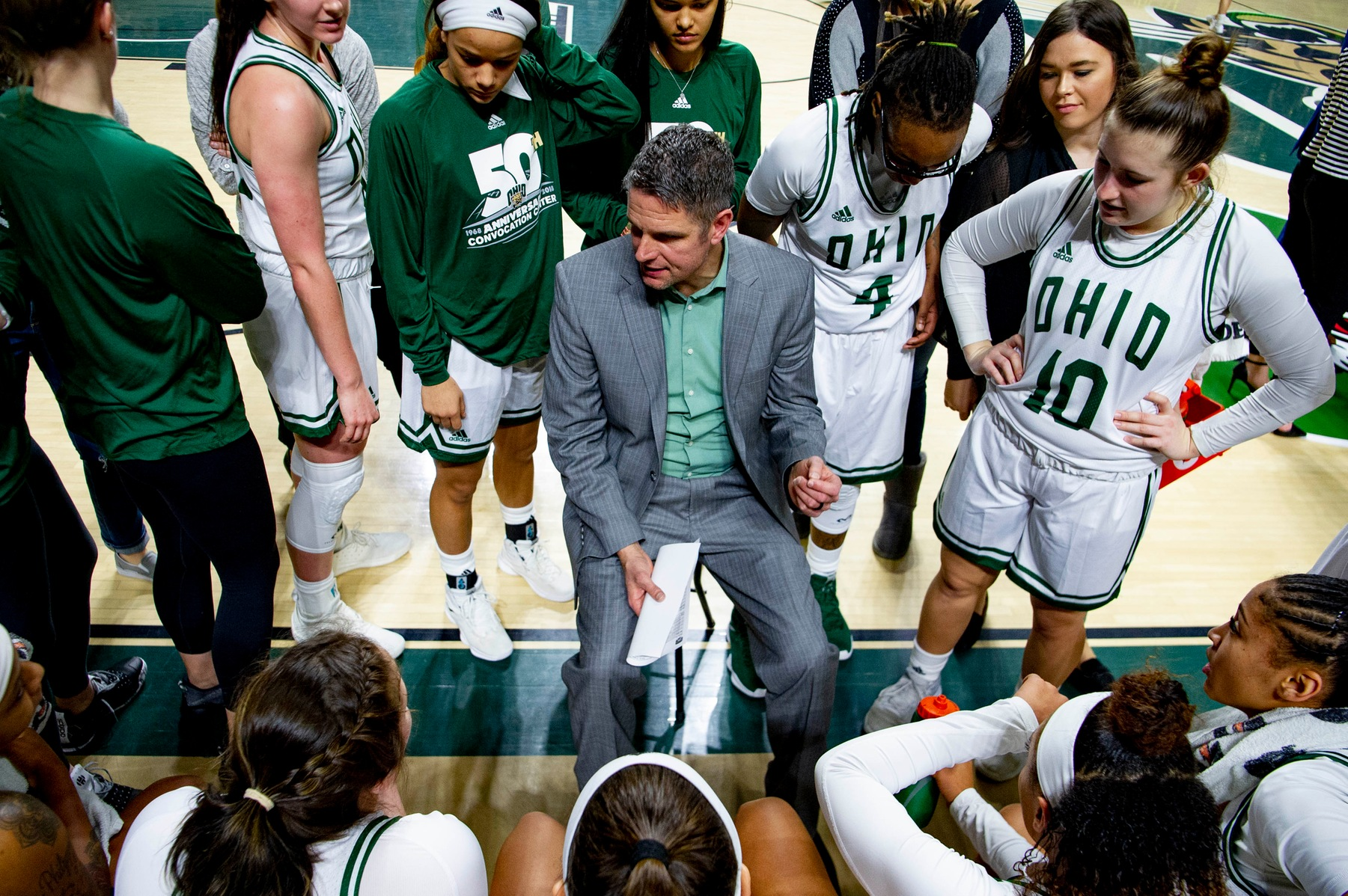 Ohio Women's Basketball Clinches First Round Bye in MAC Tournament With 70-66 Win Over Miami
