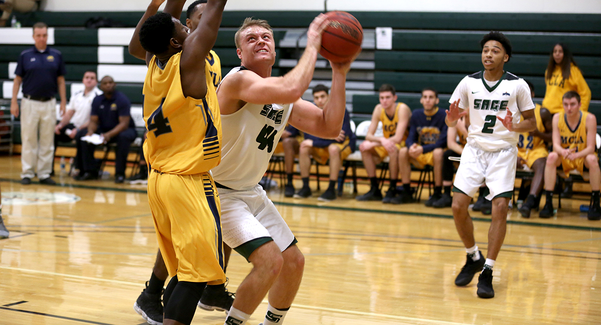 Balanced attack leads Sage to 102-88 win over MCLA