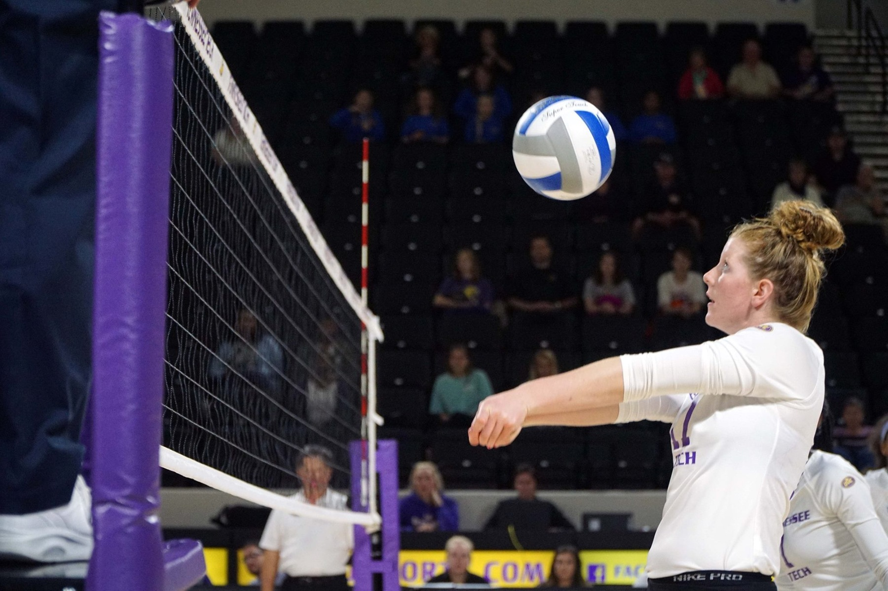 Tech volleyball ends non-conference action with four-set loss to New Mexico