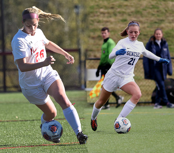 SUNYAC selects Women's Soccer Athlete of the Week