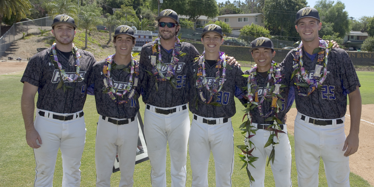 Baseball sends off seniors with sweep of La Verne
