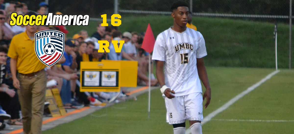 Retrievers Ranked No. 16 By Soccer America; Vinson Named to Top Drawer Soccer National Team of the Week
