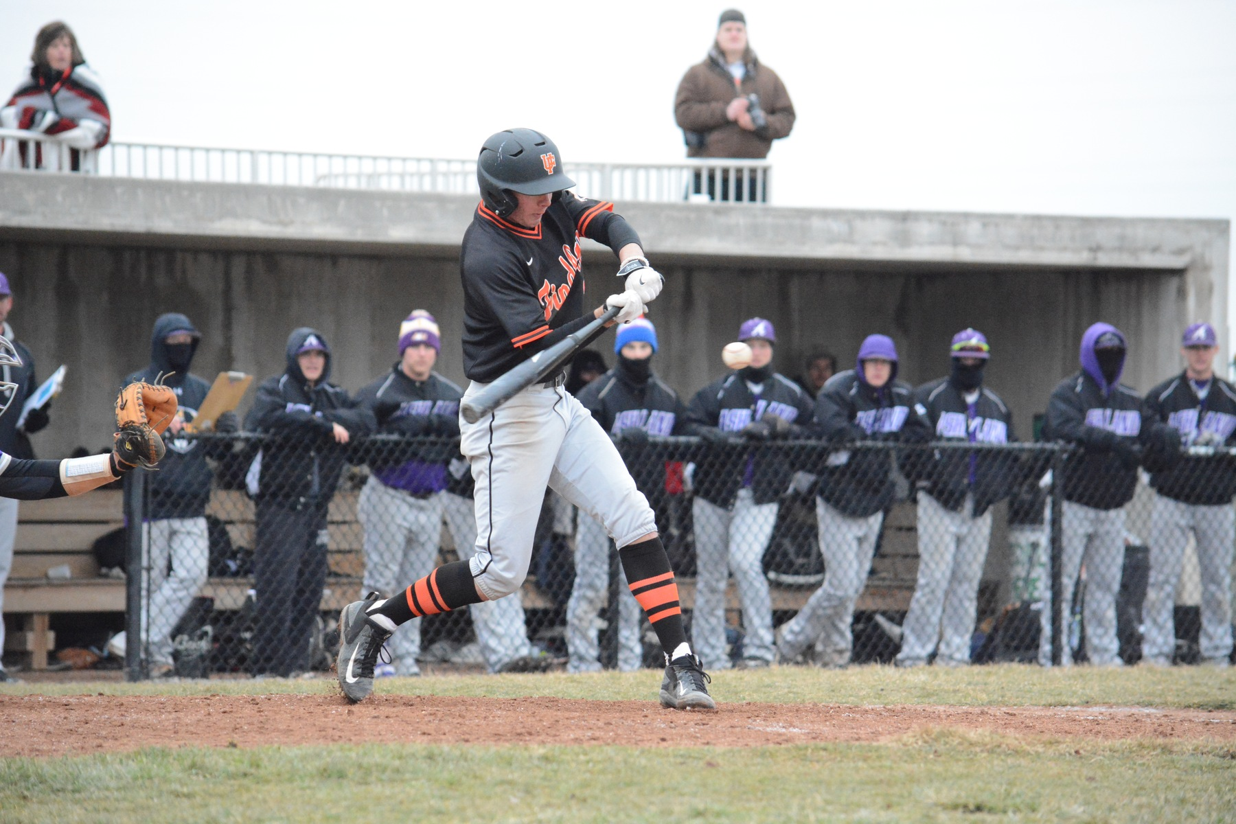 Oilers Split Frigid Home Opener vs Ashland