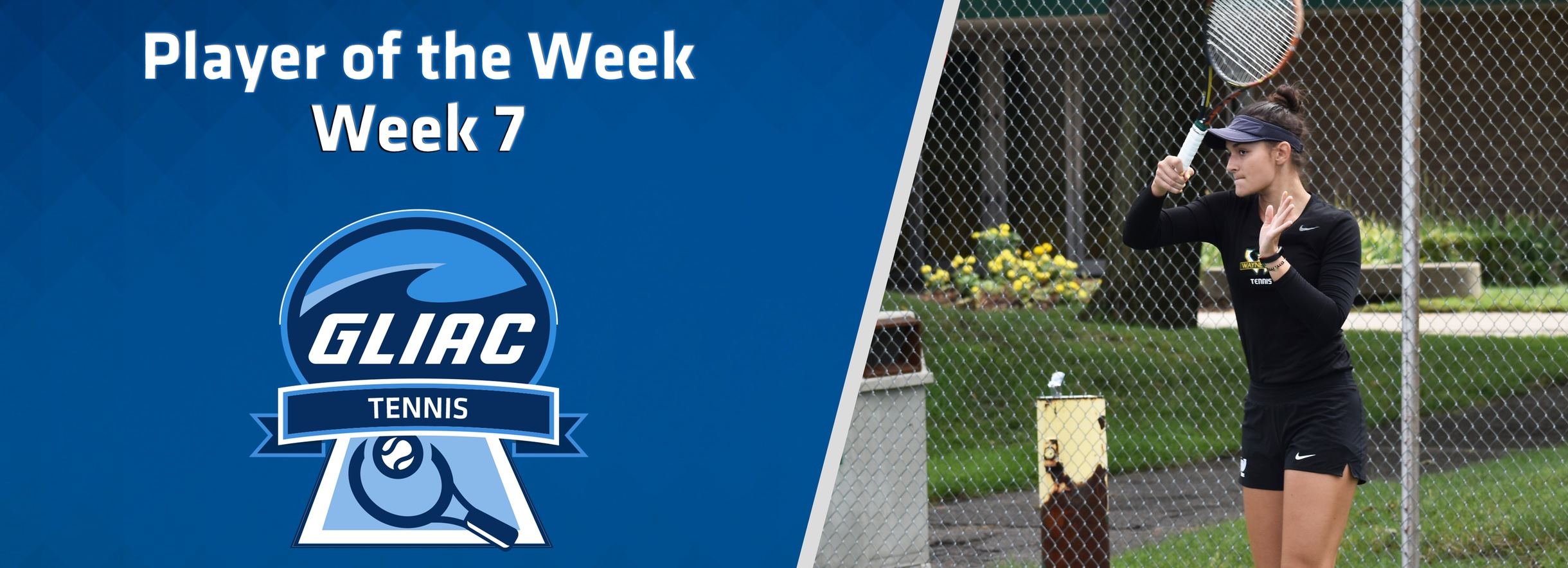 WSU's Da-Silva Claims GLIAC Women's Tennis Player of the Week Honors