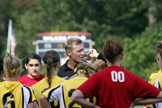 Ykoruk stepping down as head women's soccer coach