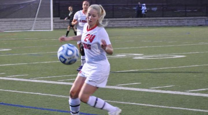 Women's Soccer Routs Nichols 5-0, Nets Program Record 10th Win