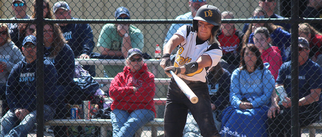 Softball Bests Tiffin 2-1 (10 Innings) In Game One, Second Contest Halted Due To Darkness