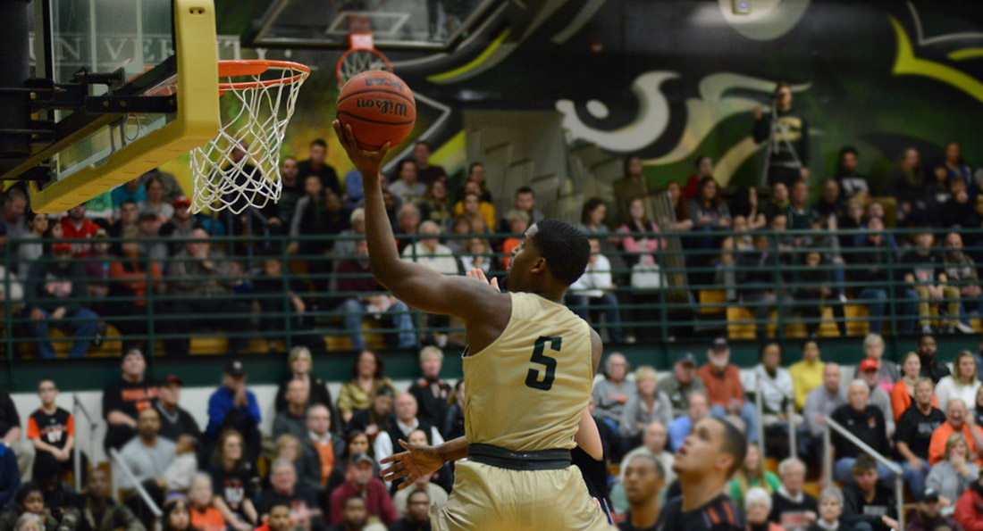 Alex Brown led Tiffin in scoring with 20-points on 9 of 11 shooting from the field.