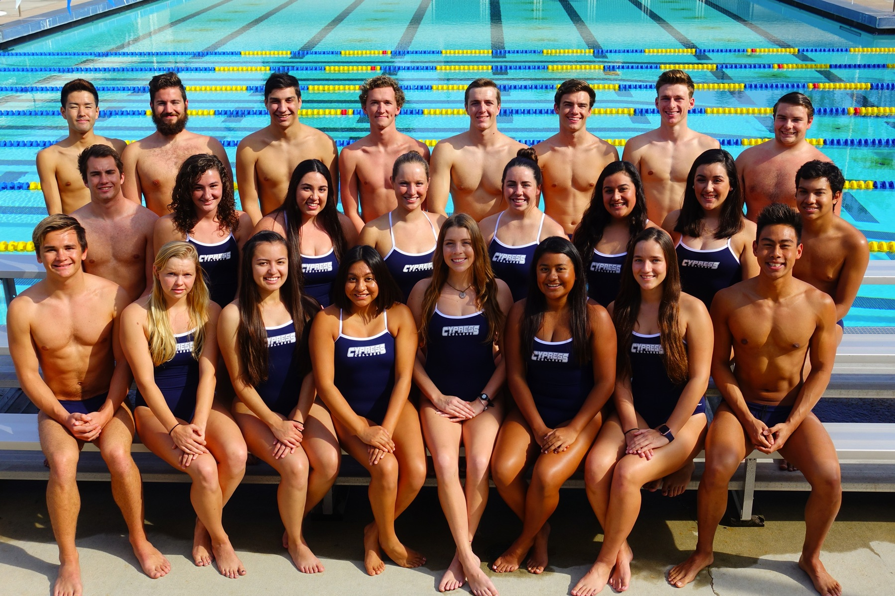 Chargers Swim & Dive Showing Promise Early in the Season