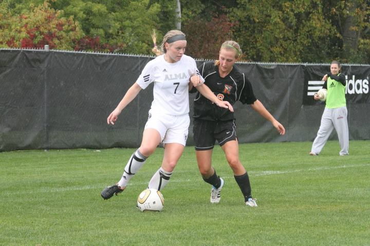 Alma Women's Soccer victorious over host Webster University (Mo.) 2-1 in overtime on Sunday