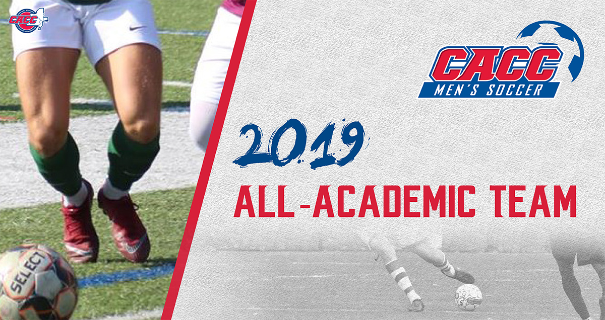 Fifty-Five Student-Athletes Named to 2019 CACC Men's Soccer All-Academic Team