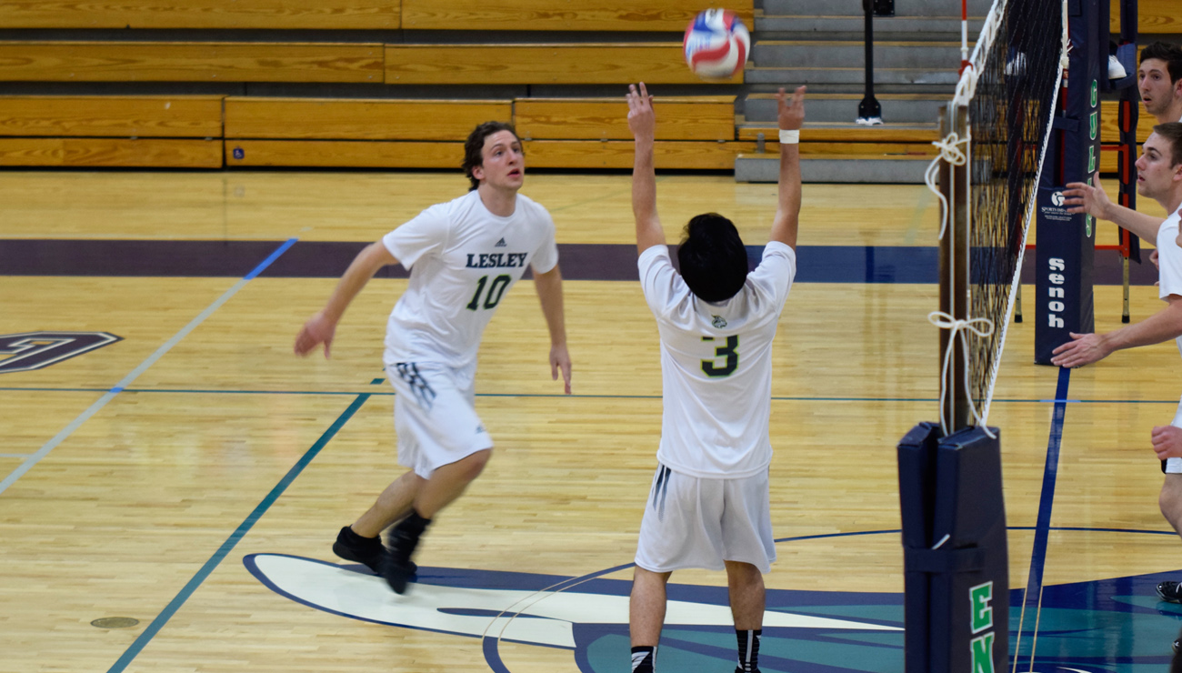 Balanced Effort Carries Endicott Past Men's Volleyball