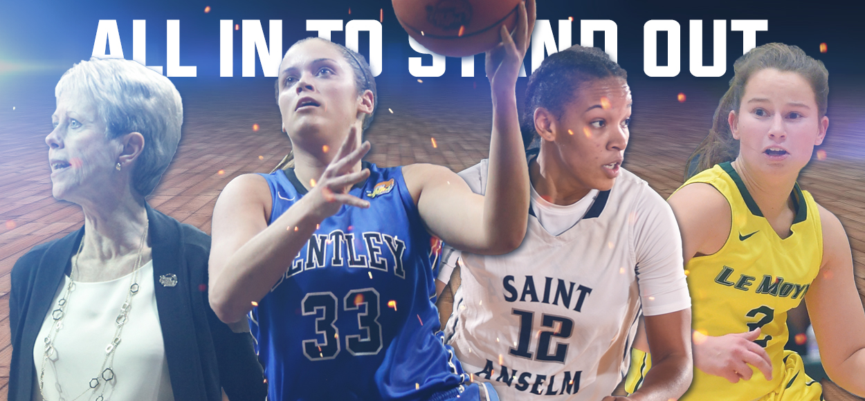 Bentley's Gemma Repeats as Player of the Year; NE10 Announces All-Conference Teams, Major Awards