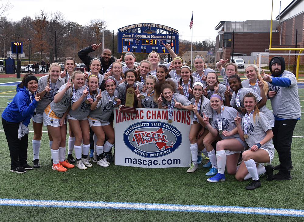 Women's Soccer Crowned MASCAC Champion in Double Overtime