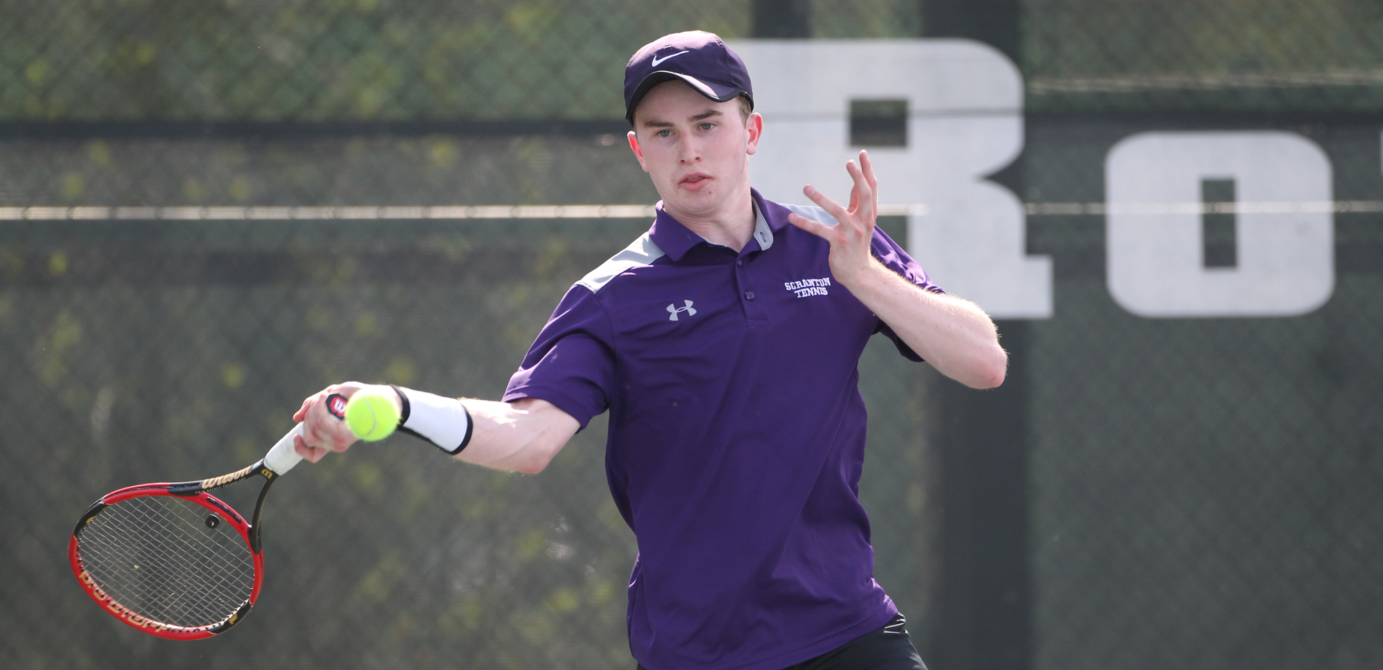 Freshman Tarquin McGurrin had wins at no. 1 doubles and no. 1 singles on Wednesday.