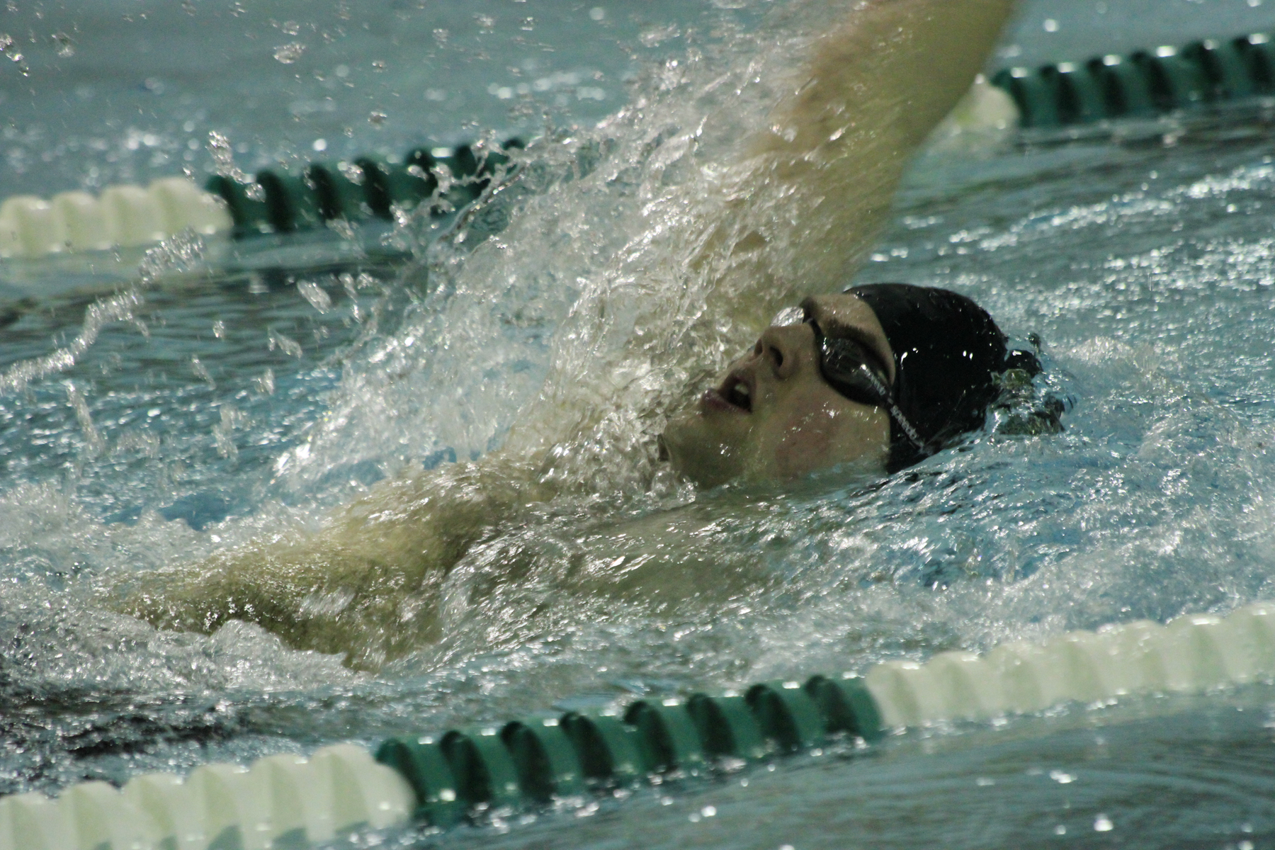 Men's Swimming Races Past Colby-Sawyer
