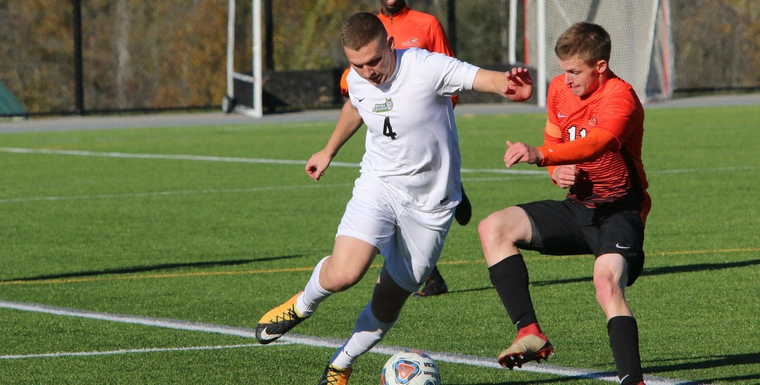 Chris Millard (4) scored the lone goal for Keuka on Friday