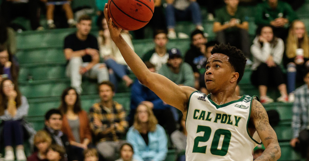 Cal Poly Rallies in Second Half But Falls to Cal State Fullerton 101-97