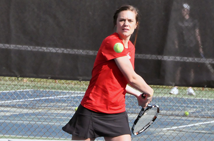 Women's Tennis: Panthers blank Greensboro 9-0 in USA South match
