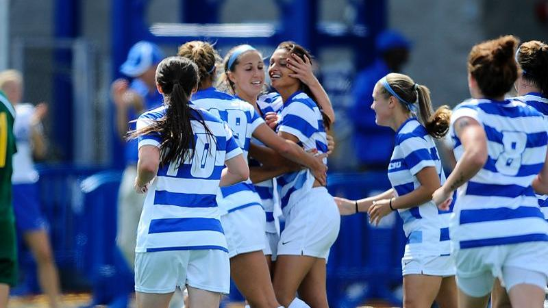 Women's Soccer Tops Siena 2-1 on Sunday