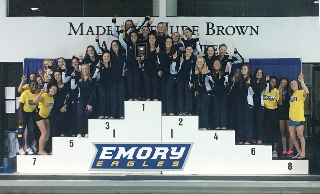 Women's Swimming & Diving Win 20th Straight UAA Title; 26th Overall