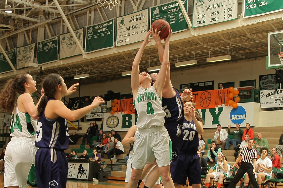 Sansom earns first-career victory in season-opener, 73-55