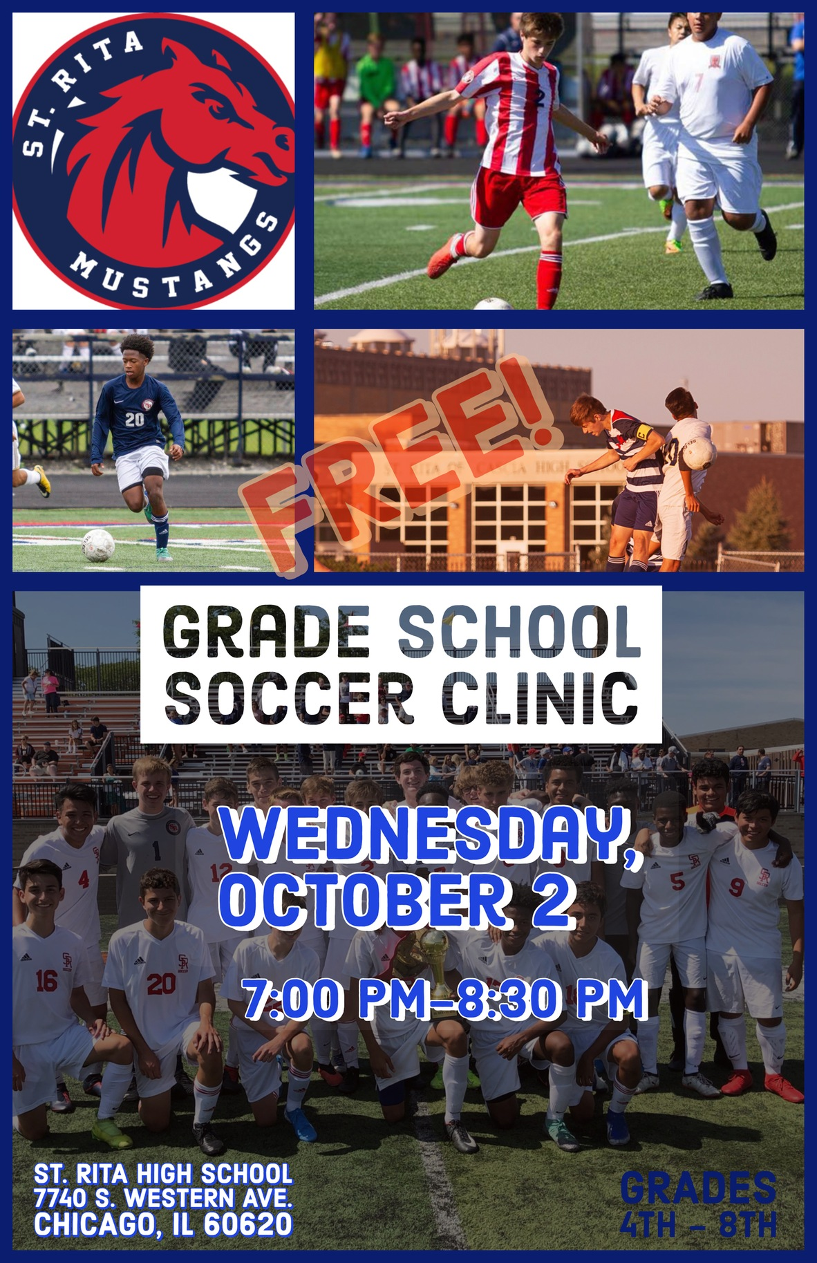 Fall Soccer Clinic!