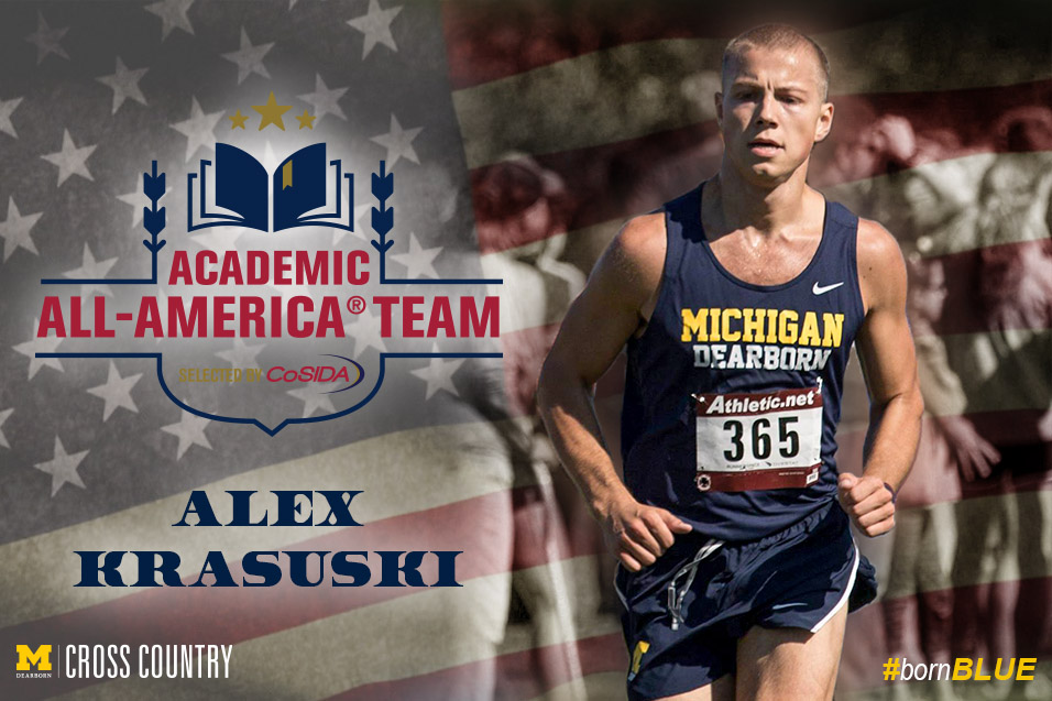Photo for Krasuski named UM-Dearborn's first CoSIDA All-American