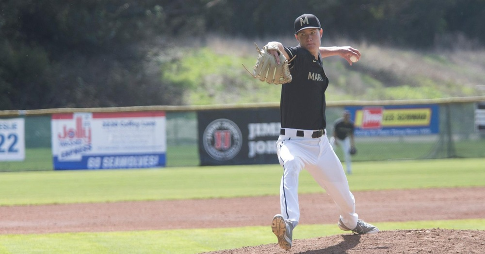 Chris Allen Is Nearly Perfect As Mariners Thrash Laney College Eagles 9-0