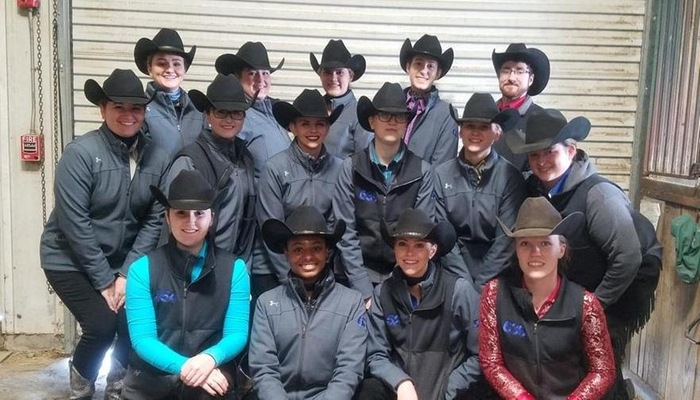 Team photo of Western Equestrian