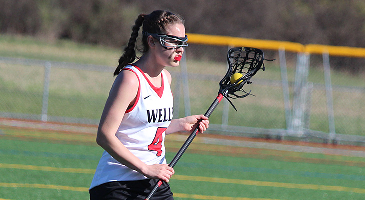 Big First Half Propels Women's Lacrosse To Win