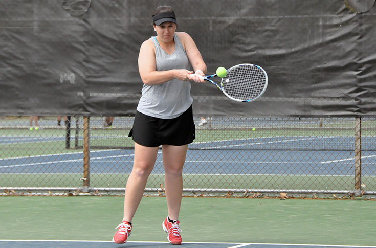 Women's Tennis: Herring wins twice as Panthers lose at Covenant and Piedmont