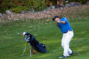Golfers earn third at Worcester State in final match before UAAs