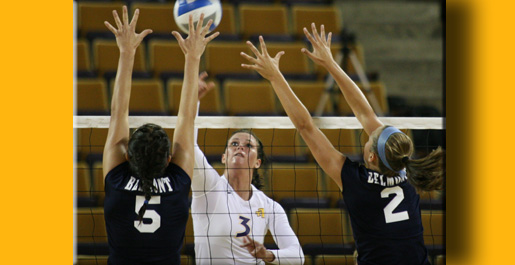 Golden Eagles claim first win, top Belmont 3-1 in Eblen Center