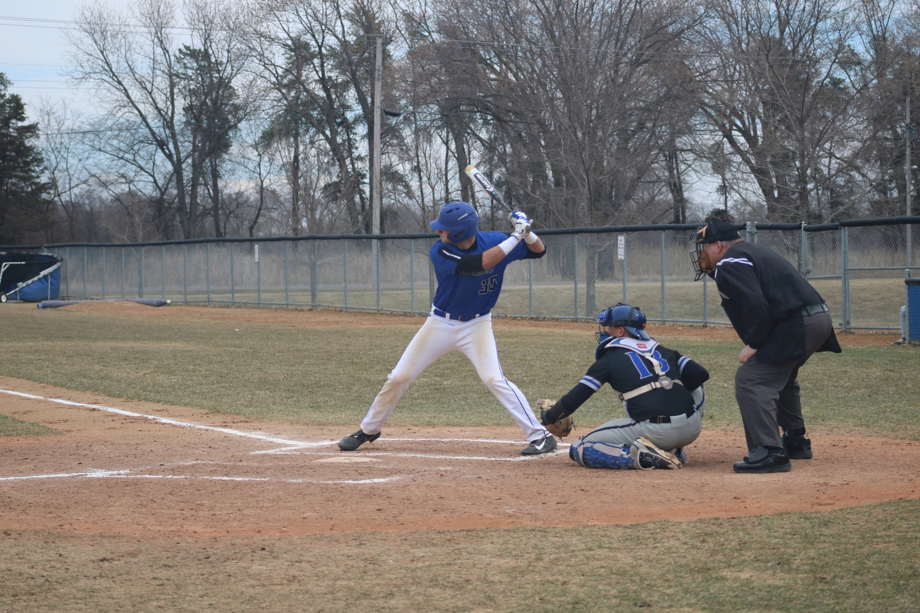 Baseball takes four from Bay College. Head to NIACC Wednesday