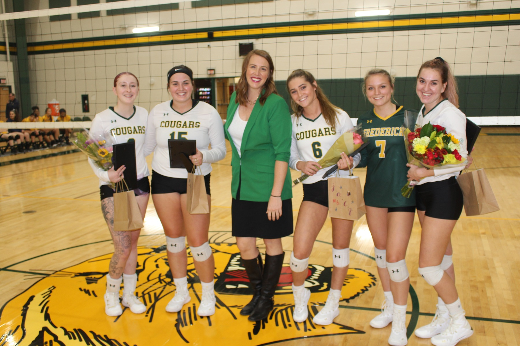 FCC Volleyball Dominates On Sophomore Night